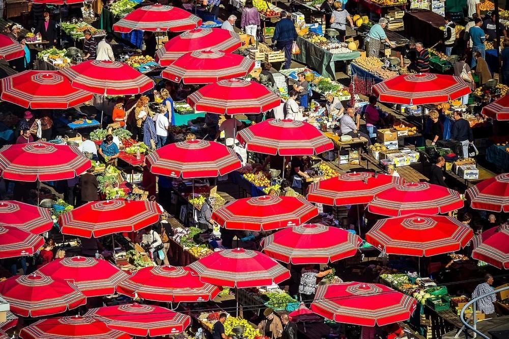 Dolac market Photo: Julien Duval Photography