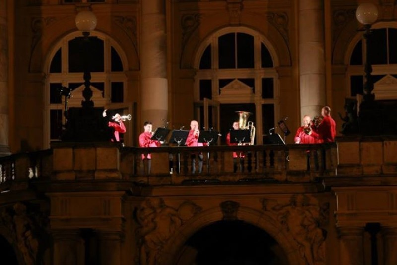 advent in zagreb koncert na balkonu