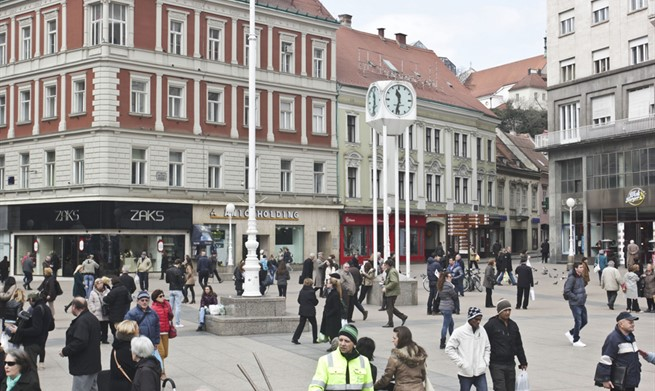Valentine's Day in Zagreb