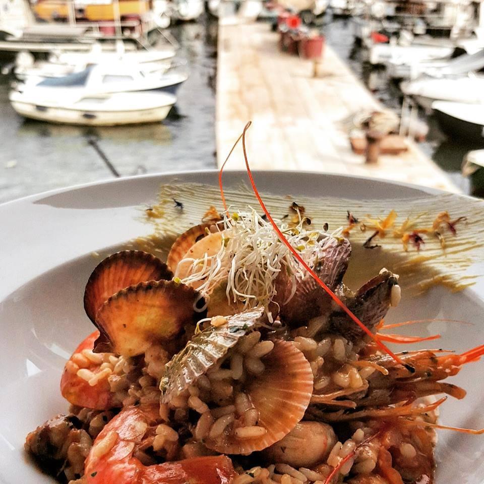 Seafood risotto Ribarska Koliba Restaurant