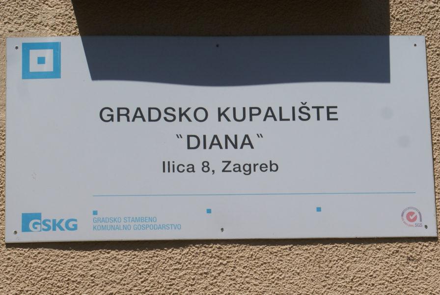 Last public bath in Zagreb