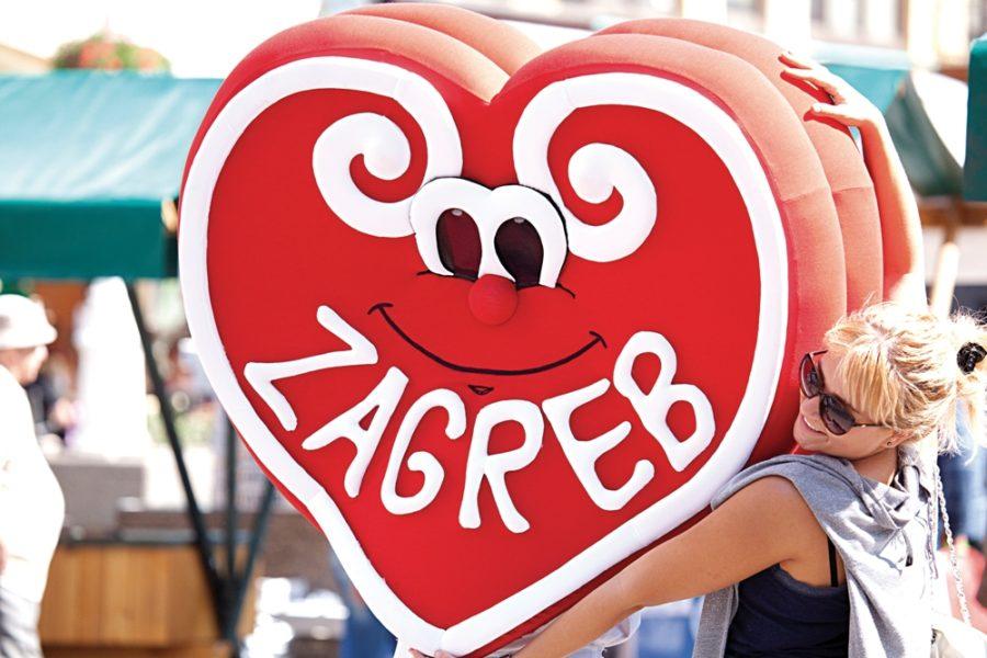 Licitar heart Zagreb original souvenir
