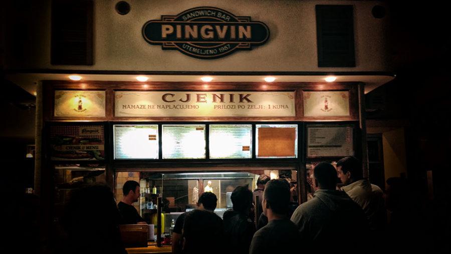 Pingvin sandwich bar Zagreb