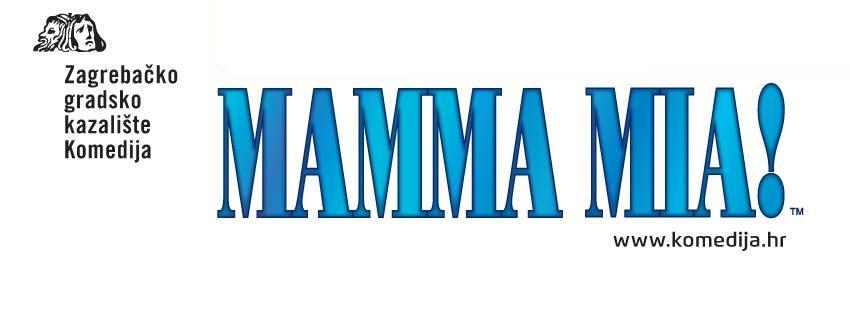Famous musical Mamma Mia! in Zagreb theatre