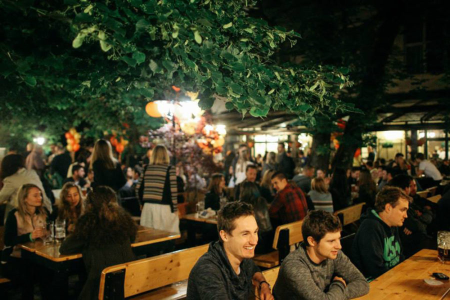 Top 5 outdoor summer terraces in Zagreb