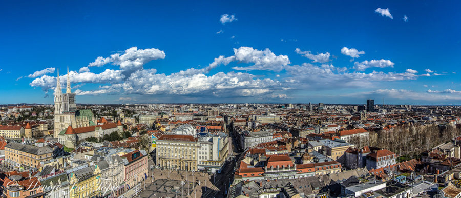 Top 5 Zagreb viewpoints