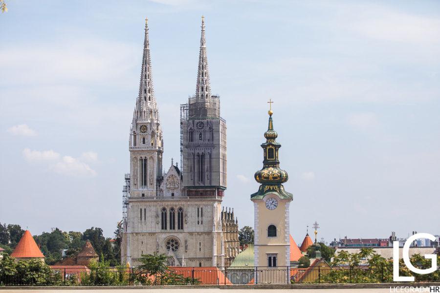 Zagreb settlements Kaptol and Dolac