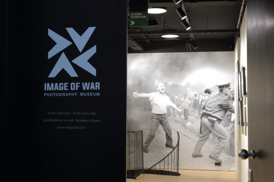 """Image of War"" Museum Zagreb"