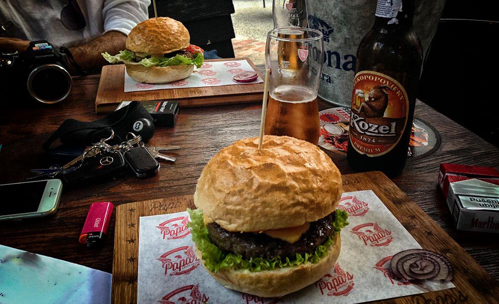 burger zagreb papas