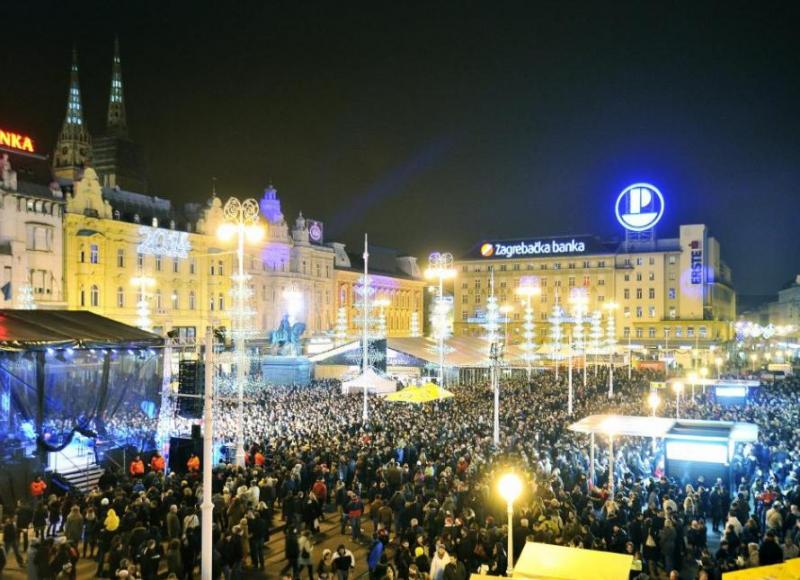 New Year's Eve in Zagreb