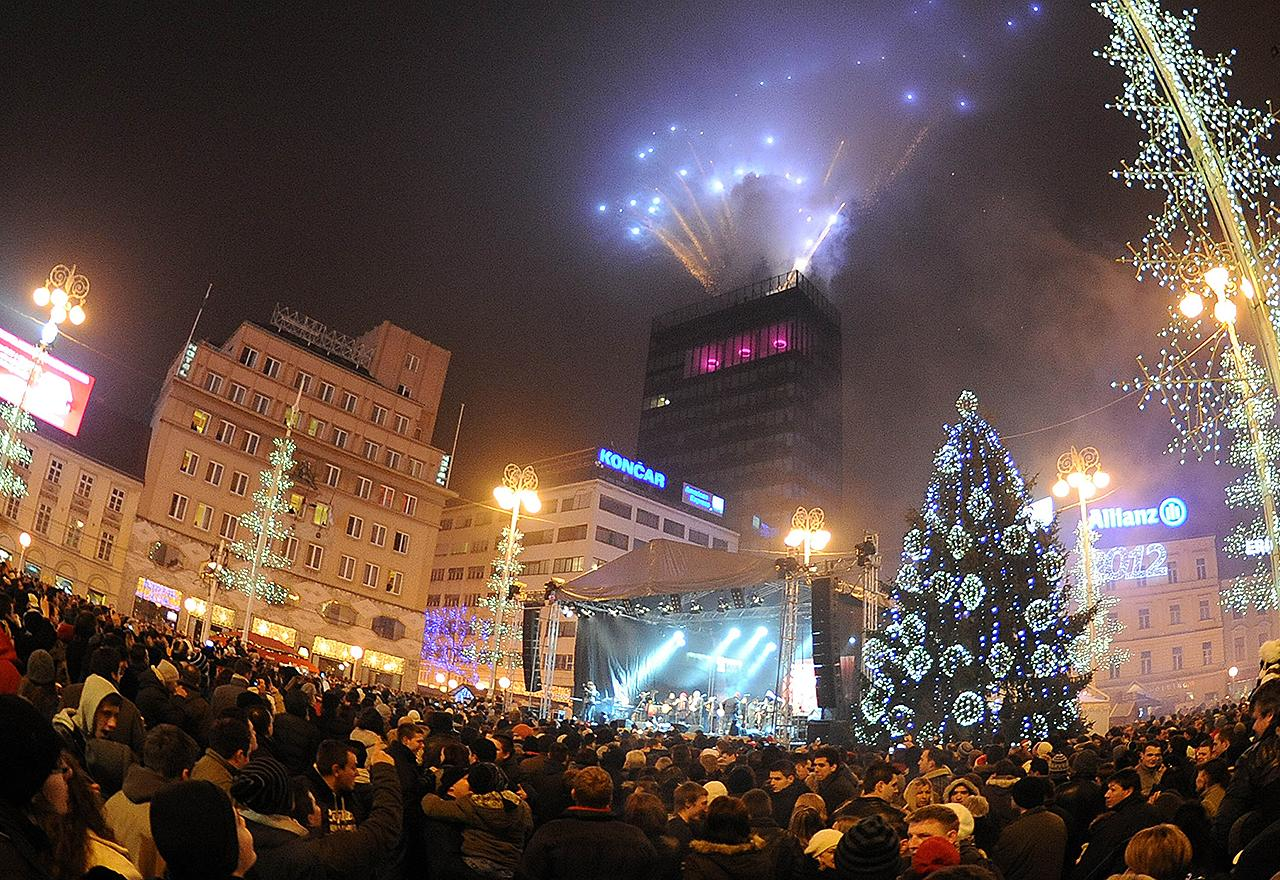 New Year in Zagreb 2018