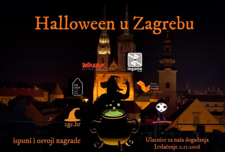 13 days of Halloween in Zagreb