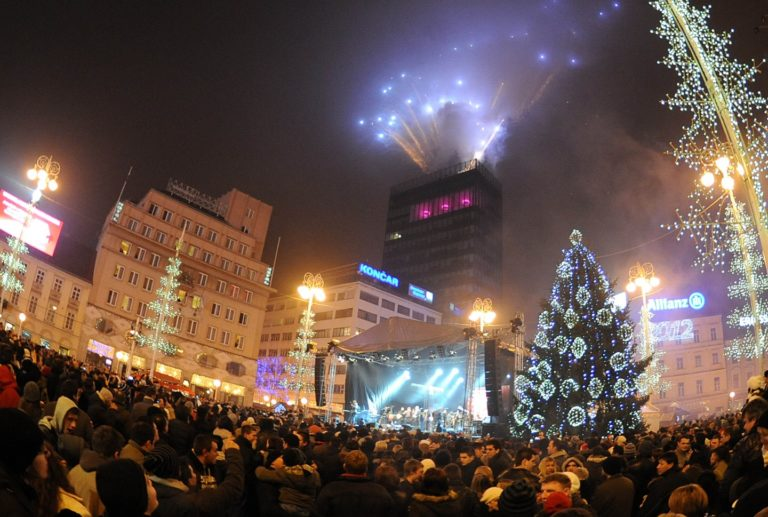 Top 10 best places to celebrate New Year's Eve in Zagreb