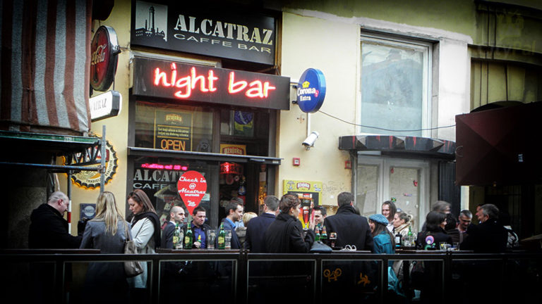 Caffe and night bar Alcatraz