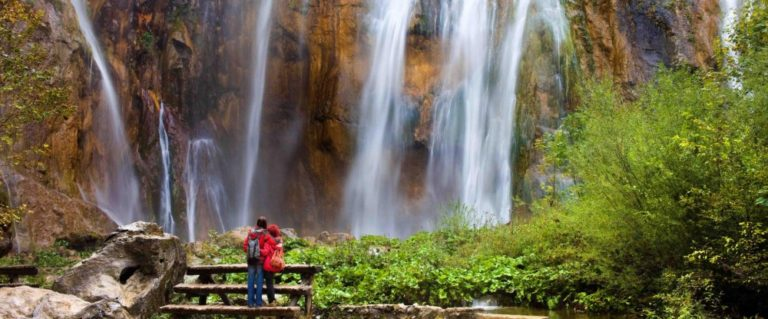 Visit the Biggest Waterfall on Plitvice Lakes