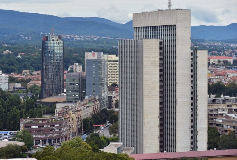 Top 10 tallest buildings in Zagreb