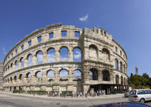 Top 10 Roman Empire monuments in Pula