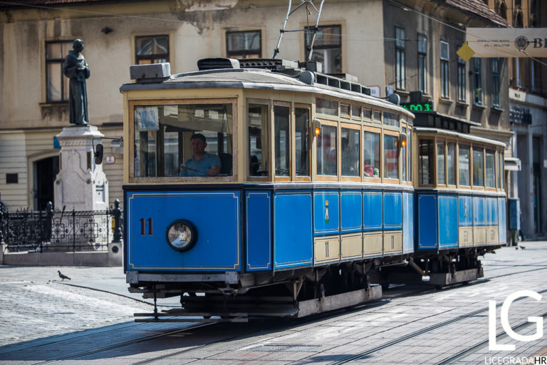 Historical example of the Zagreb tram M-24 which we rarely can see