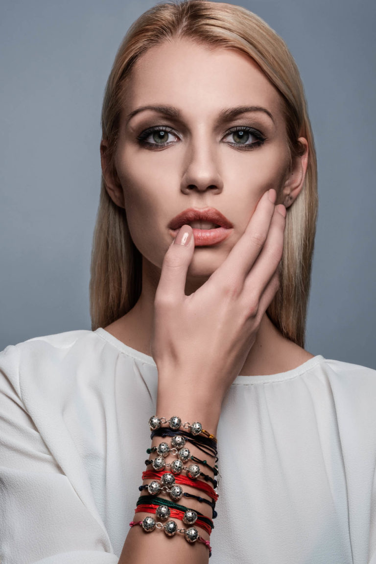 Miss Croatia for Miss World – Amaranthine bracelets