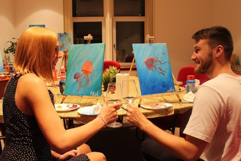 Wine & Paint Studio Zagreb – Art Bottega